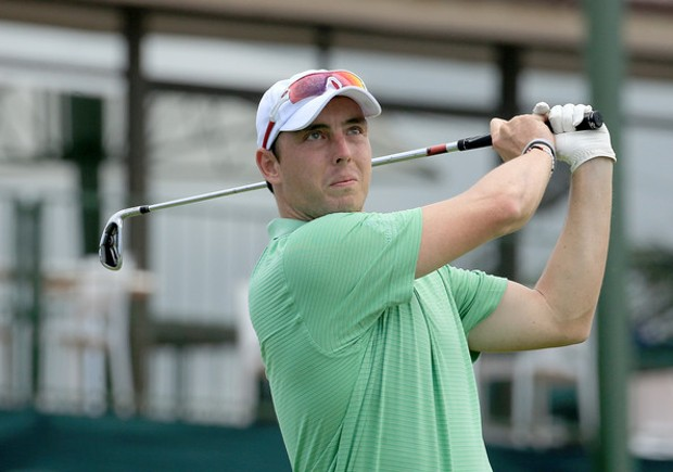 Kyle Abbott Playing Golf