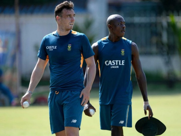 Kyle Abbott With Kagiso Rabada