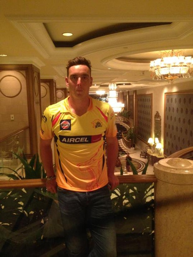 Kyle Abbott Playing in Chennai Super Kings Team