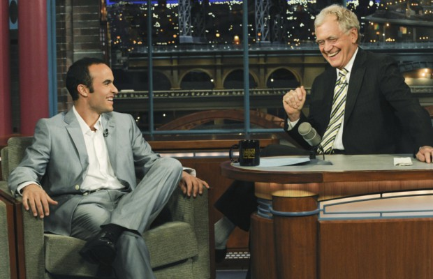 Landon Donovan in David Letterman