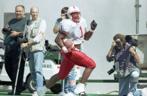 Lawrence Phillips during NU vs MSU in 1995