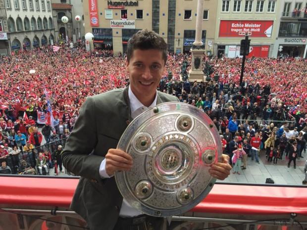 Robert Lewandoski with German Championship