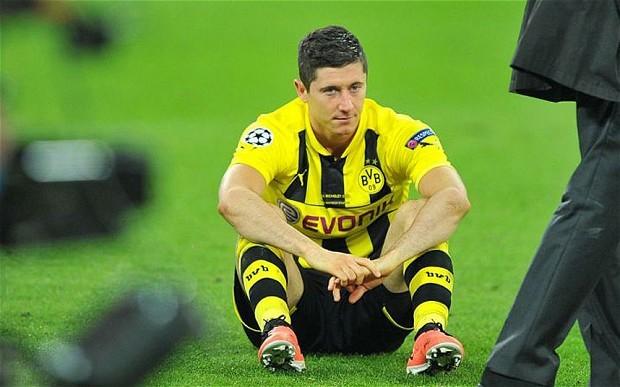 Lewandowski for Borussia Dortmund