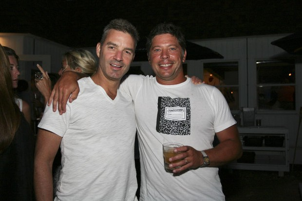 Daniel Loeb and Adam Lindemann