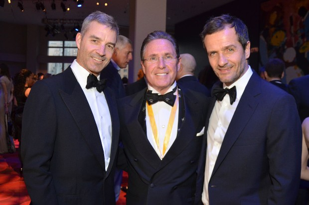 Dan Loeb founder of Third Point LLC With Andrew Farkas, founder of Island Capital Group and David Heyman, founder of Heyday