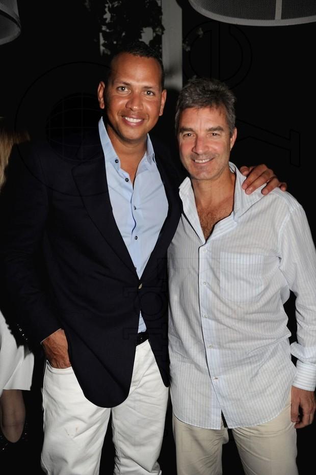 Daniel Loeb with Alex Rodriguez