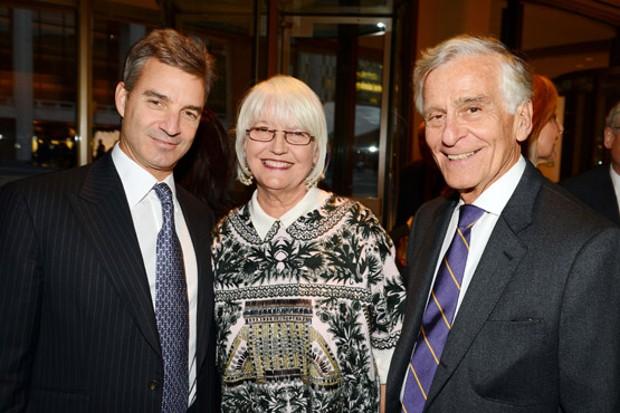 Daniel Loeb With Ellen Levine and Dr. Richard Levine