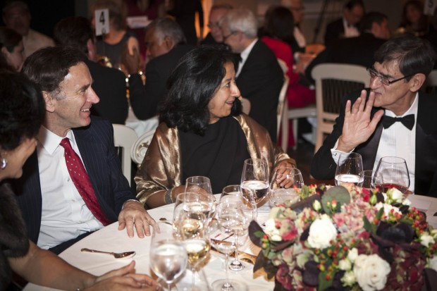 Lord Green and Lubna Olayan