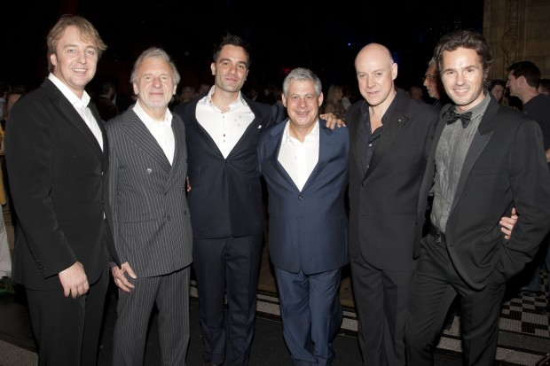 John Owen-Jones, Colm Wilkinson, Ramin Karimloo, Cameron Mackintosh, Anthony Warlow & Peter Joback