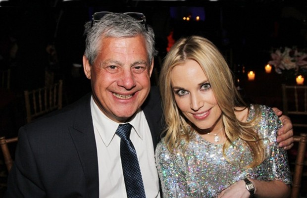 Cameron Mackintosh with Imogen Lloyd Webber