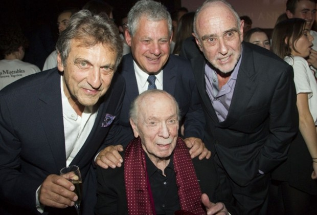 Alain Boubill, Cameron Mackintosh, Claude Michel Schonberg and Herbert Kretzmer