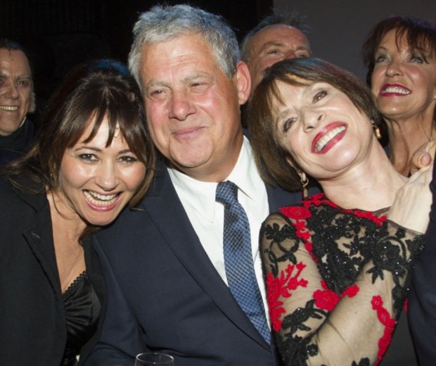Francess Ruffelle, Cameron Mackintosh and Patti LuPone