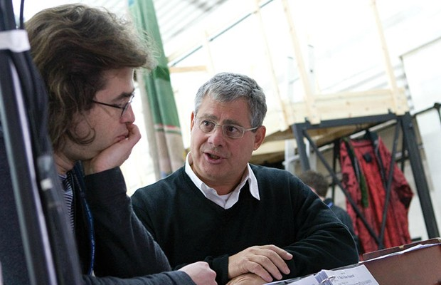 Cameron Mackintosh with Rupert Goold
