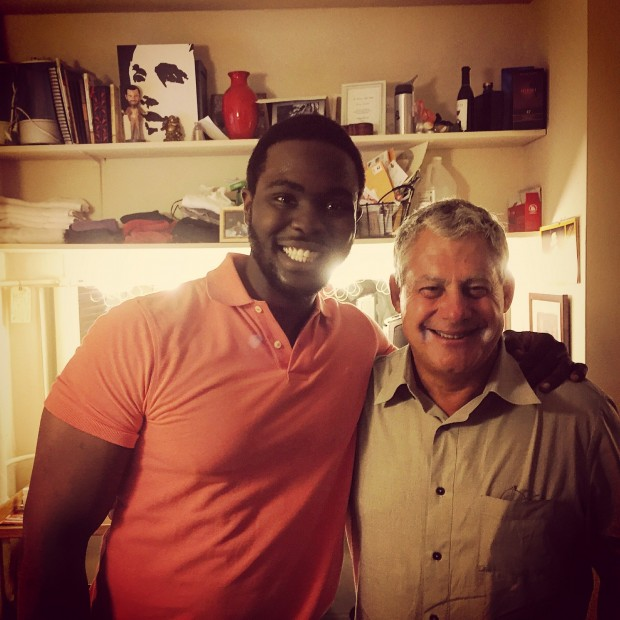 Kyle Jean-Baptiste and Mackintosh
