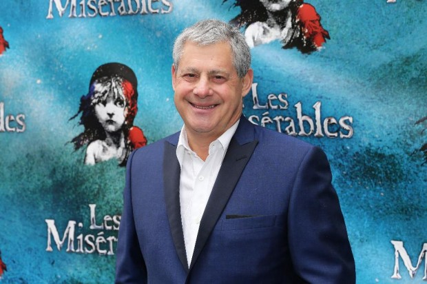 Mackintosh at opening night of 'Les Miserables' in New York City