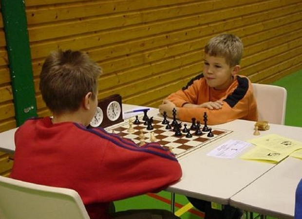 Magnus Carlsen at age of 11