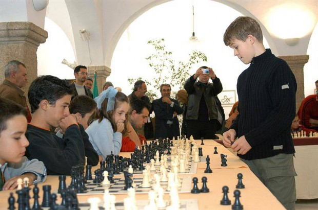 World Chess Champiom Magnus Carlsen