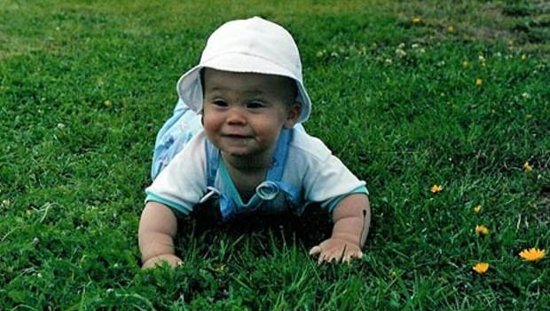 Baby Magnus Carlsen