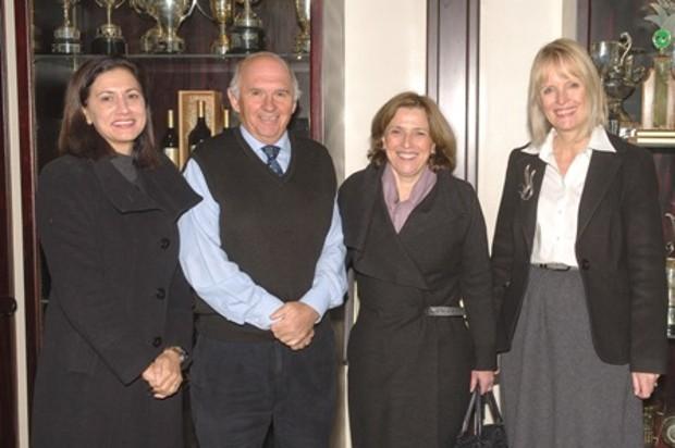 Maria Ramos With Cheryl de la Rey, Piet Botha,  Carolina  Koornhof