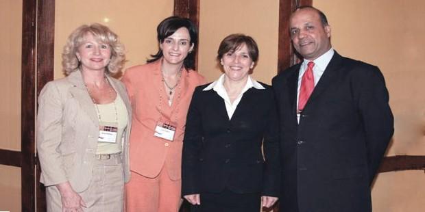 Marga Hofmeyr, Liana Griesel, Ms Maria Ramos, Narend Baijnath