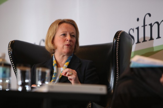 Mary Schapiro In Meeting
