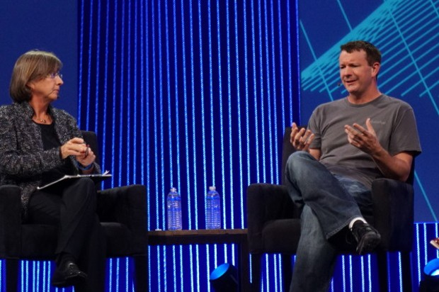 Mary Meeker and WhatsApp's Brian Acton