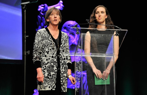 Mary Meeker at TechCrunch Annual Crunchies Awards