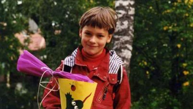 Mats in his childhood