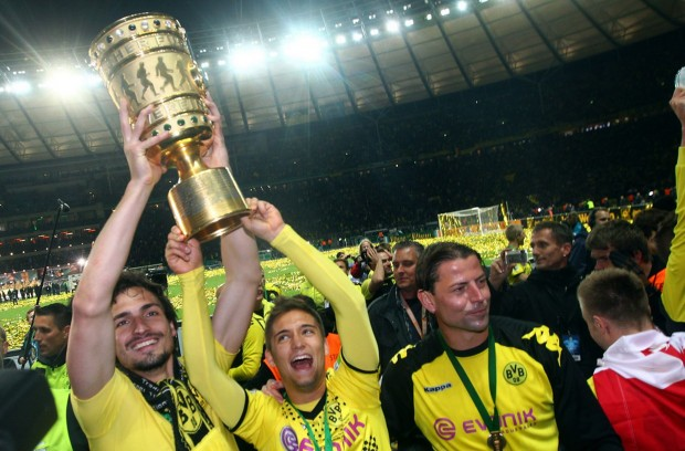 DFB Cup Celebrations