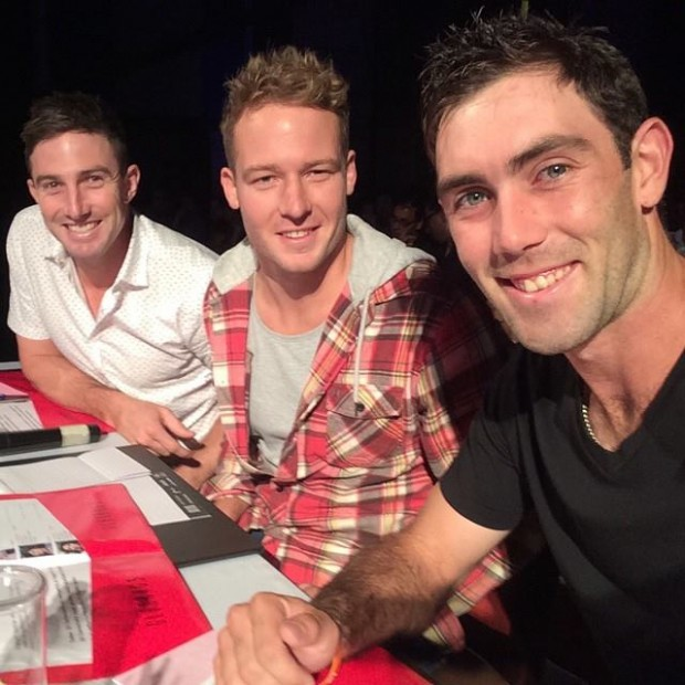 Shaun Marsh and David Miller with Maxi