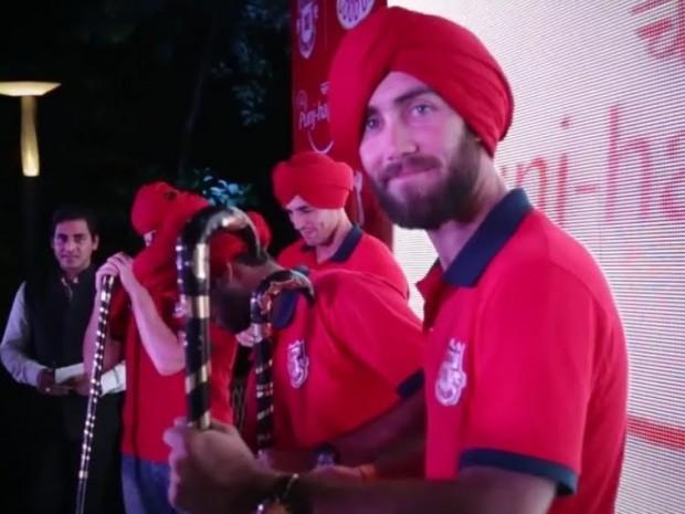 Glenn Maxwell in Punjabi Attire