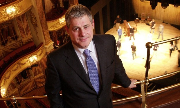 Sir Cameron Mackintosh at his theatre