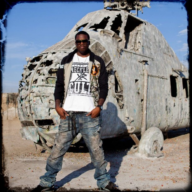 Meek during Young and Reckless Photoshoot