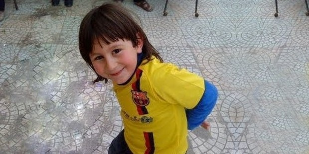 Messi in his childhood