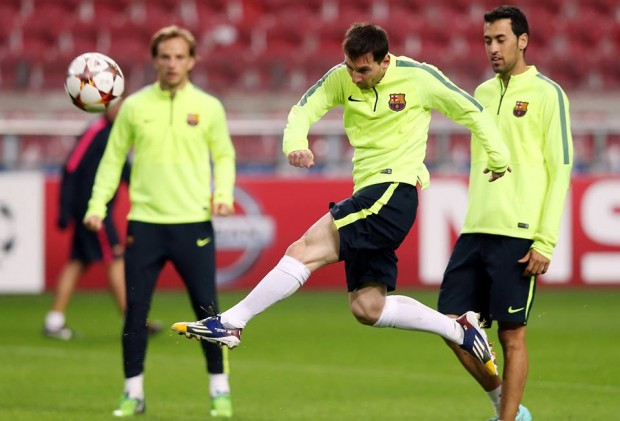 Training session at the Amsterdam Arena