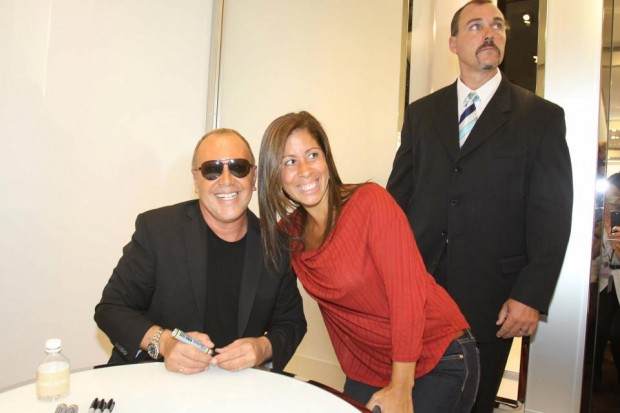 Kors with His Fan