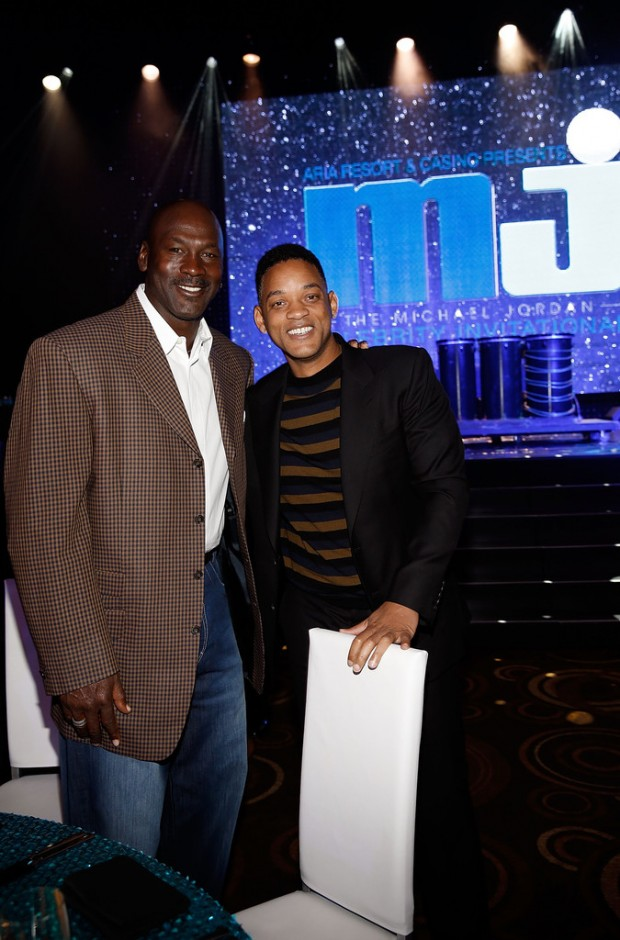 Will Smith and Michael Jordan