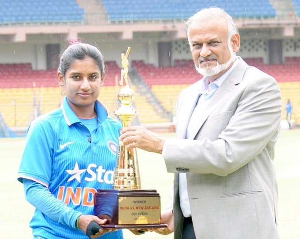 Mithali Raj ODI Series With New zeland