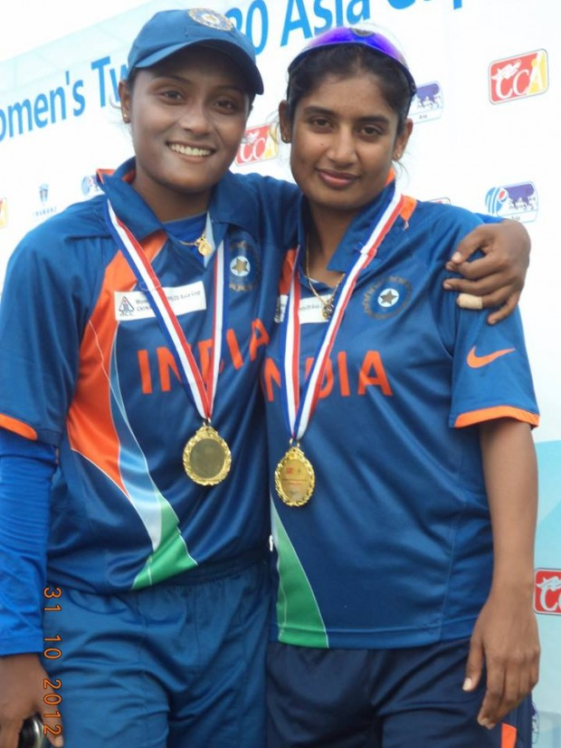 Mithali Raj With Archana Das
