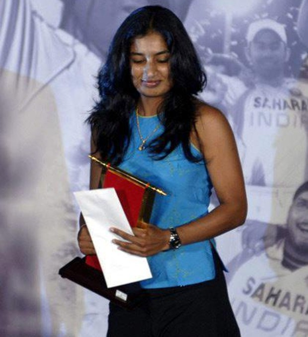 Mithali Raj Got Award
