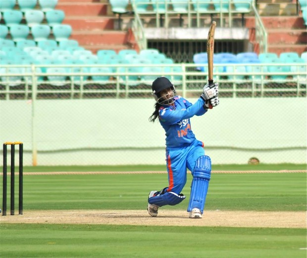Mithali Raj During Match