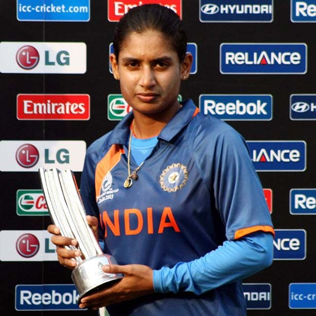 Mithali Raj With The Most Celebrated Female Cricketer Of India