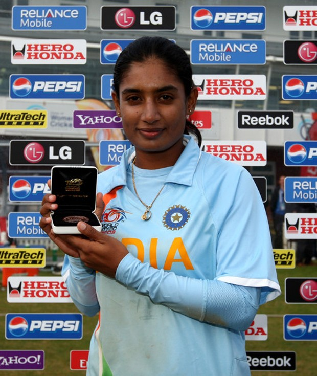 Mithali Raj During  ICC Women's Twenty20 World Cup