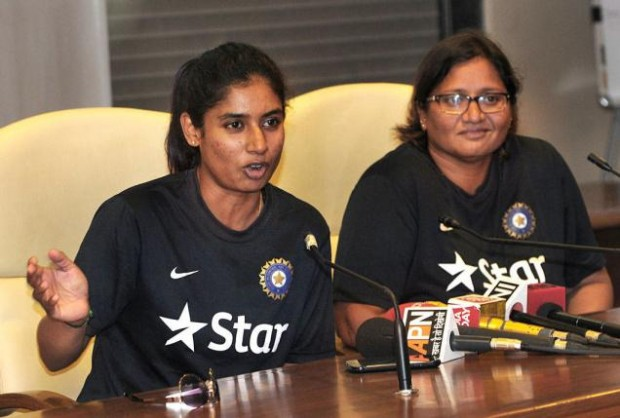 Mithali Raj With Her Coach Purnima Rao