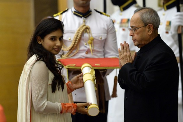 Mithali Raj has won the Padma Shri
