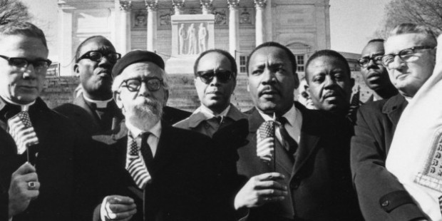 Dr. Martin Luther King and Rabbi Abraham Joshua Heschel