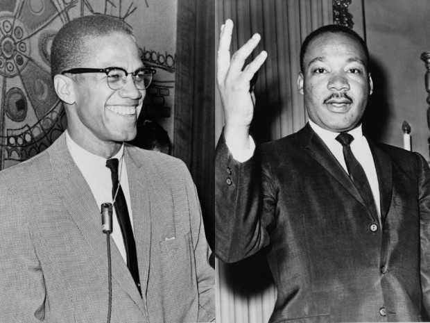 Malcom X and Martin Luther King