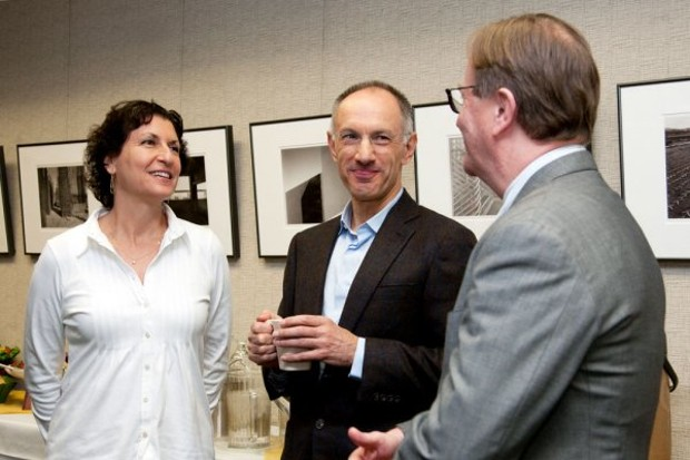 Michael Moritz With Elizabeth Watkins and Sam Hawgood
