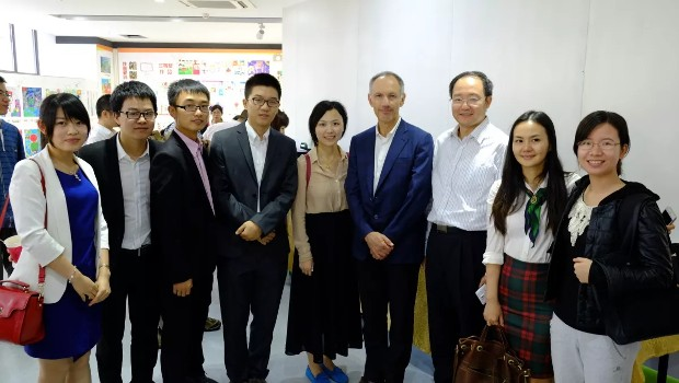 Michael Moritz With CWB StartX Members