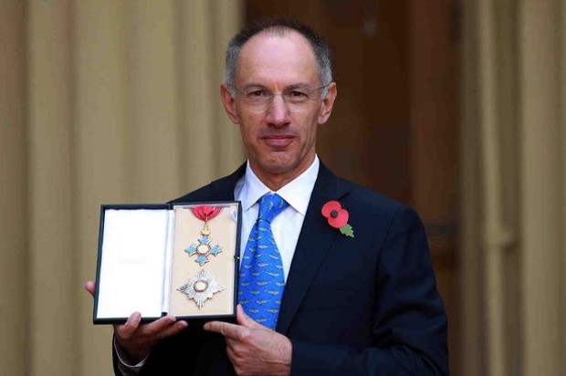 Michael Moritz With tech start-up award